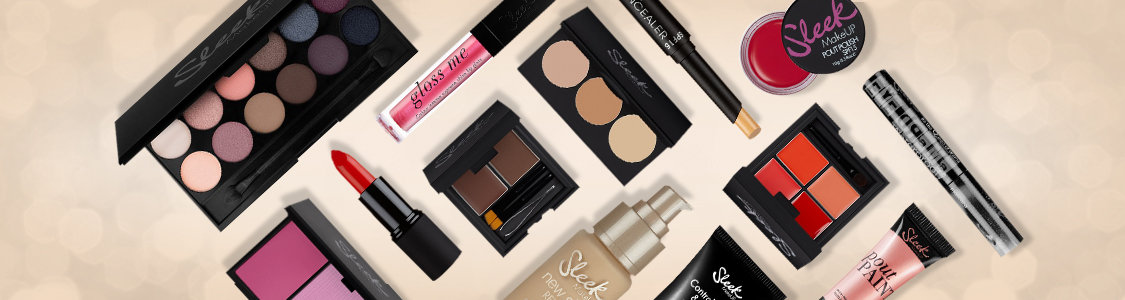 sleek makeup products banner
