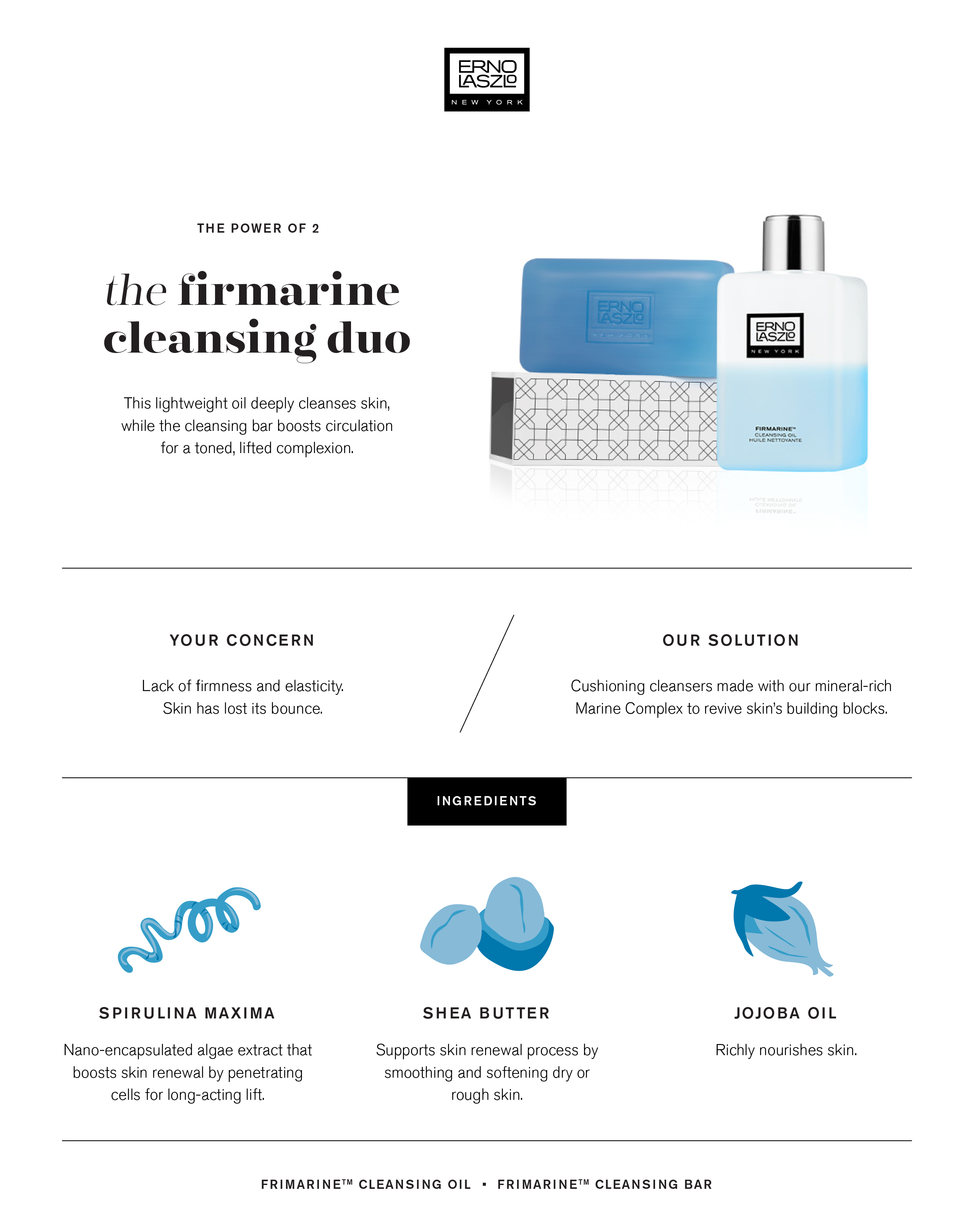 Firming infographic