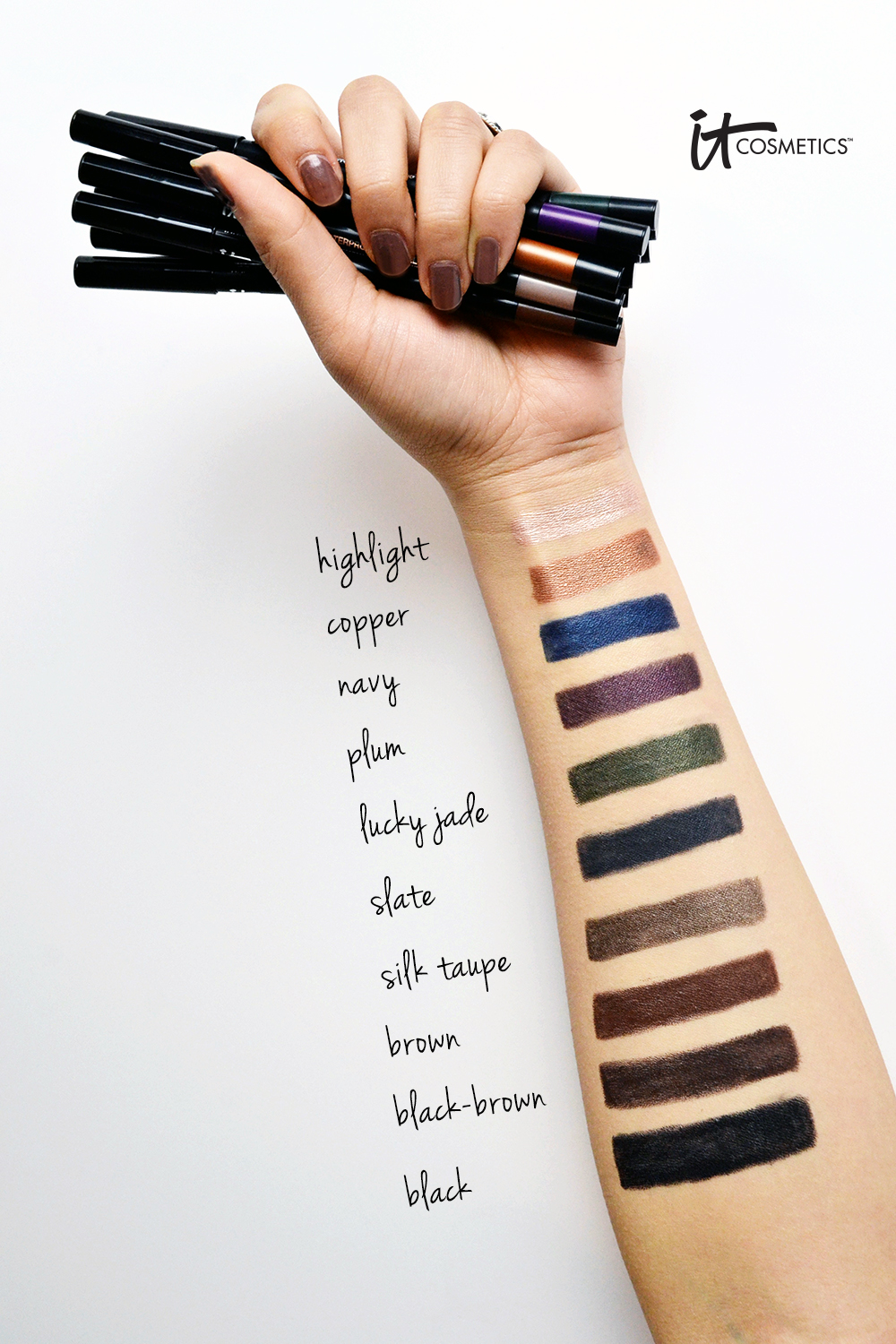 Swatches with text 20kv
