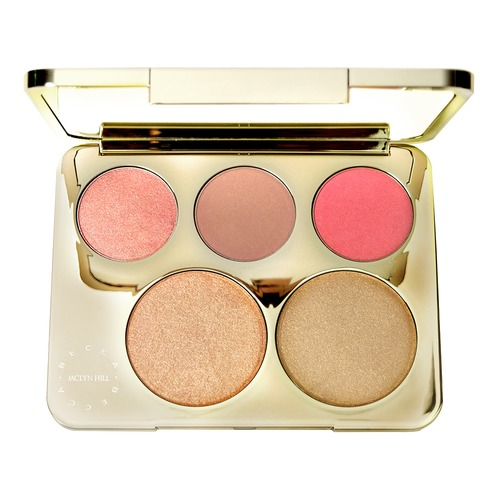 Closeup   champagne collection face palette open web