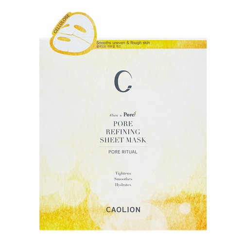 Closeup   9caolion pore refining sheet mask 6pc web