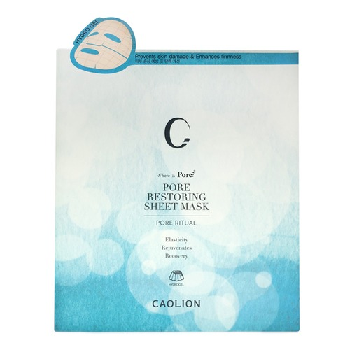 Closeup   10caolion pore restoring sheet mask 6pc web