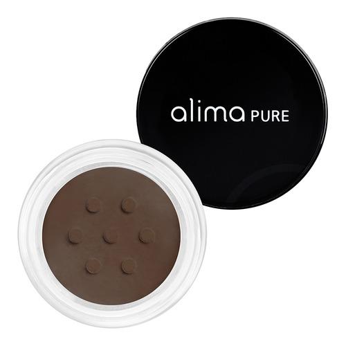 Closeup    0000 espresso satin matte eyeliner alima pure