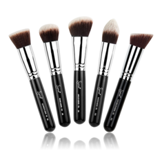 Synthetic Kabuki Kit 5 Brush Set