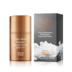 Blue Skies Suncare Facial Cream Spf30+