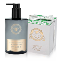 Honey Nectar Hand And Body Wash &amp; Emporium Candle Feijoa Lime